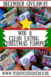 Win a Clean Eating Christmas Hamper 4