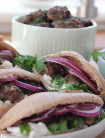 Clean Eating Mini Lamb Koftas
