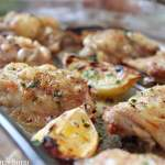 Clean Eating Roasted Lemon Pepper Chicken Thighs
