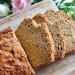 Clean Eating Golden Wholegrain Banana Bread