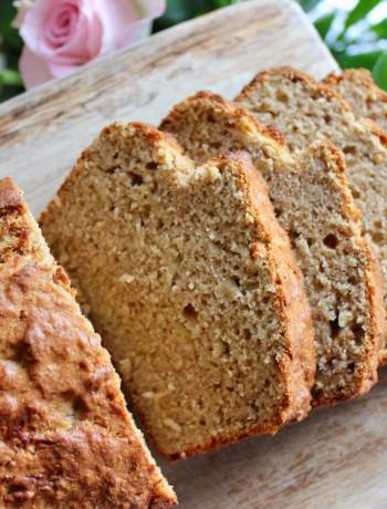 Clean Eating Golden Wholegrain Banana Bread