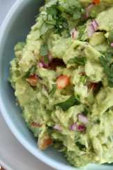 Clean Eating Homemade Guacamole