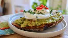 Clean Eating Mexican Breakfast Toast