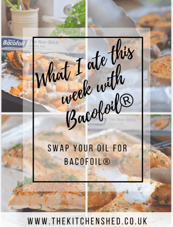 Swap You Oil For Bacofoil® - Plus what I ate this week