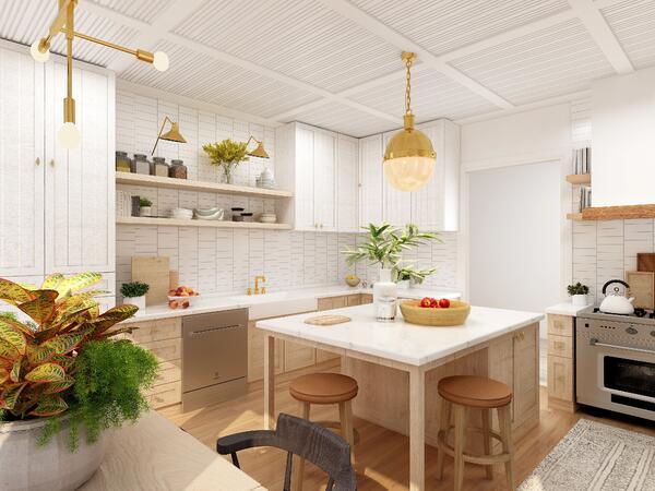 25 small kitchen design ideas for a