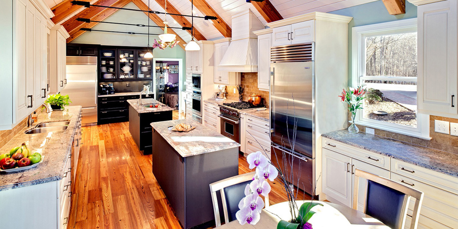 Custom Kitchen Design (slide 1)
