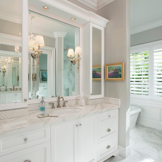 Classical Master Bathroom