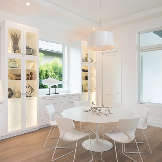 White Modern Kitchen in Boca Raton – 3