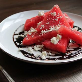 Watermelon, Balsamic, and Feta Salad
