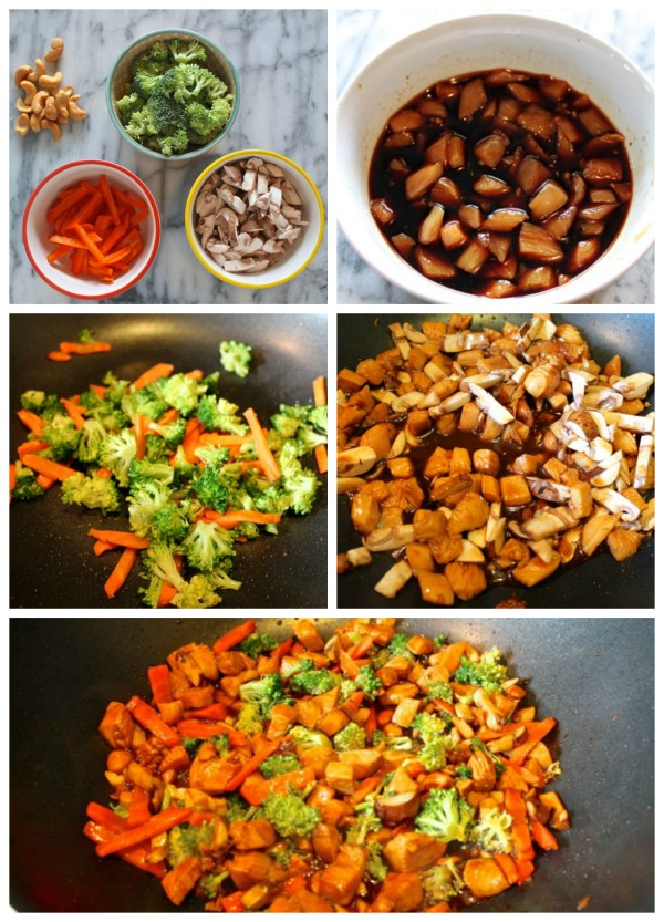 How to Make Cashew Chicken with Broccoli