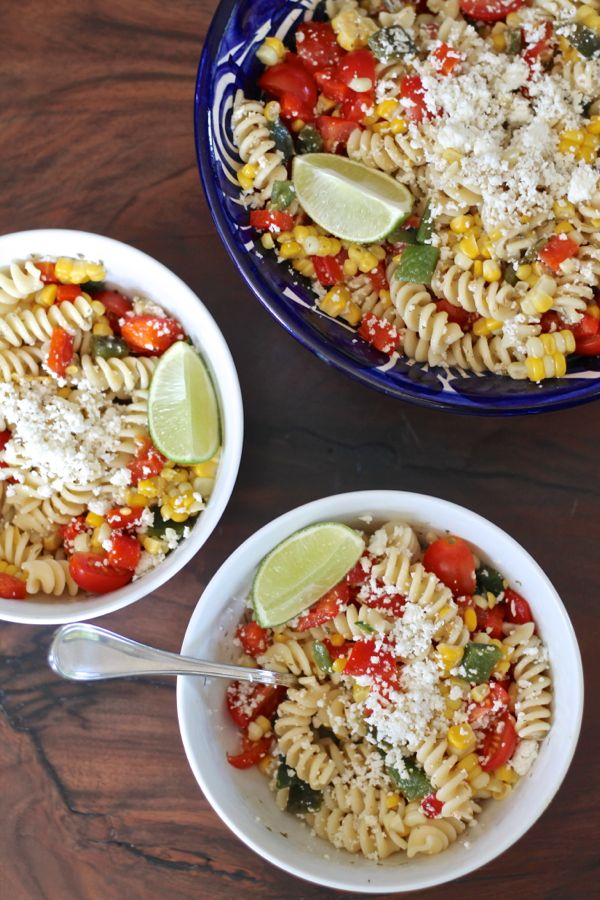 Mexican Corn Pasta Salad