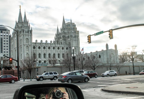 Temple in Salt Lake City