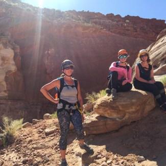 Canyoneering and Capital Reef in Utah