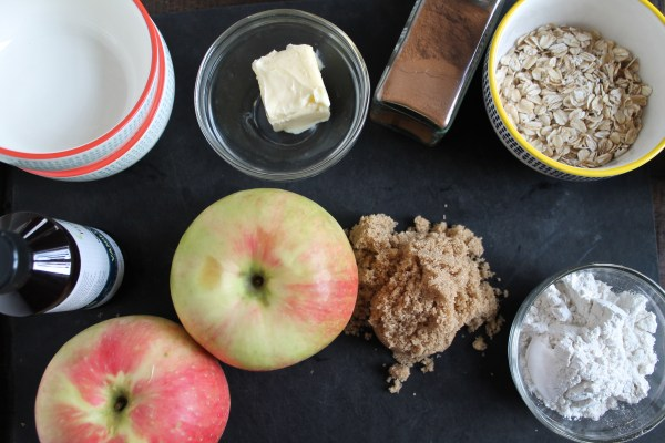Apple Crumble Ingredients
