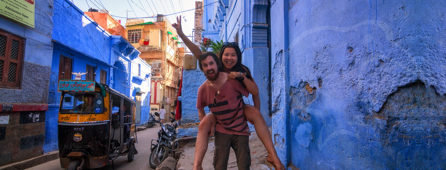 Rachel and Jeremy in Jodhpur, India