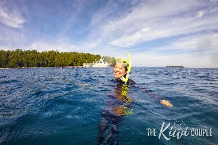 Snorkelling in Big Tub Harbour, Tobermory