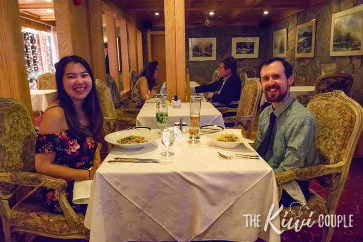 Dinner at Couples Resort