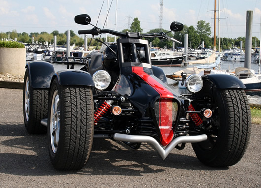 Harley Davidson Quad And Trike From Q Tec Engineering