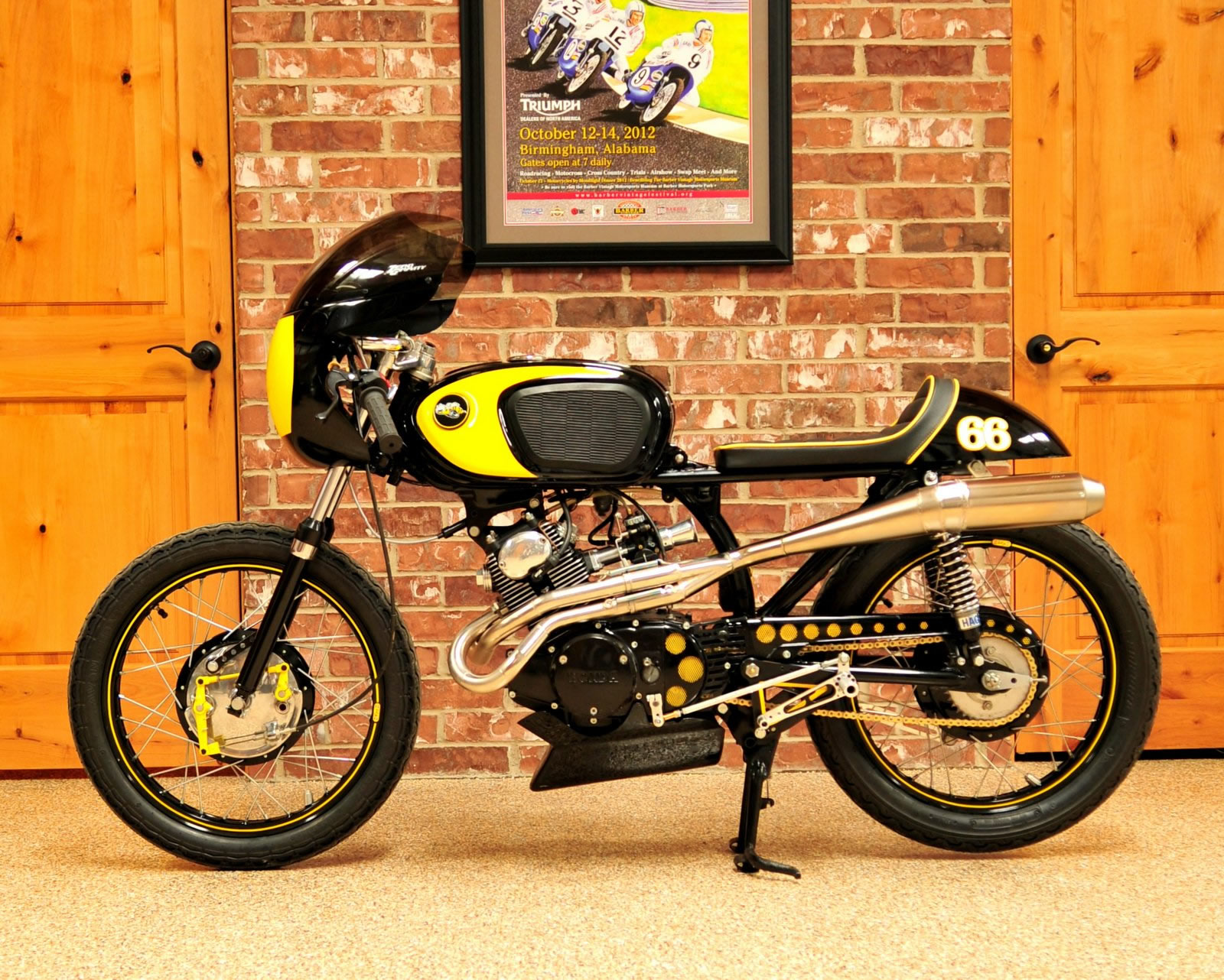 Honda Cb160 Road Racer From Cycle Sports Of Houston