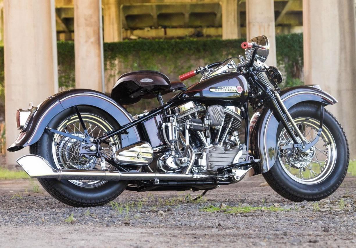 1948 Harley Davidson Panhead Resto Mod