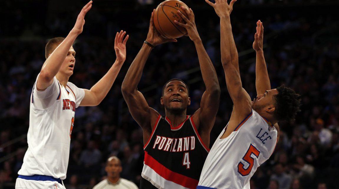 Knicks Return Home to Take on Blazers