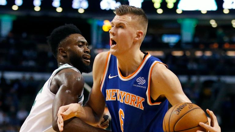 Knicks in Boston for Atlantic Division Matchup Against Celtics