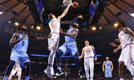 Knicks Begin Road Trip in Memphis