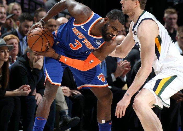 Knicks Notch Big Road Win in Utah