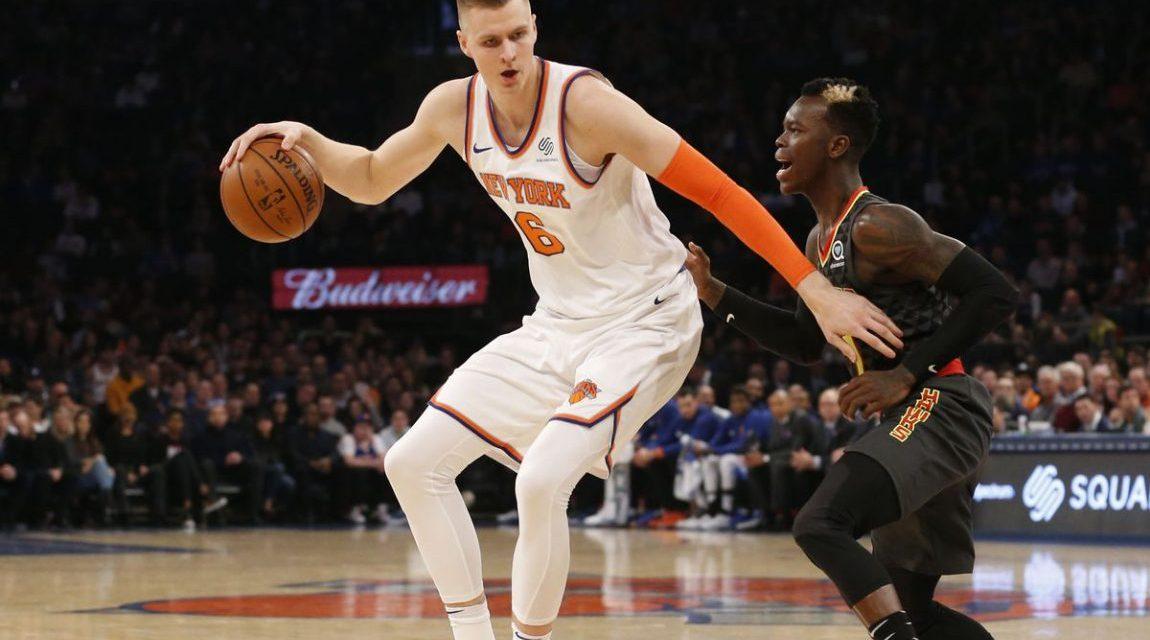 Knicks Face Hawks on Super Bowl Sunday