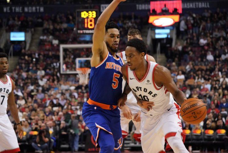 Knicks Head North to Face Raptors After Wild Deadline