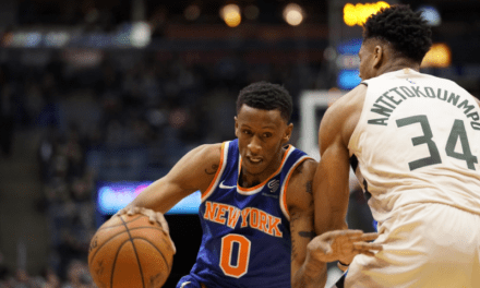 Knicks Drop Road Game to Bucks