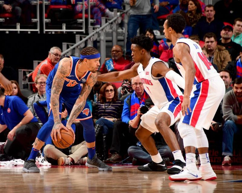 March Winds Down with Pistons in Town