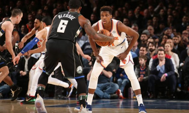 Knicks in MSG for Tilt with Playoff-Bound Bucks