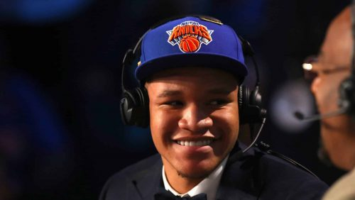 Knicks' Draft Picks Have Unique Opportunity to Contribute Immediately