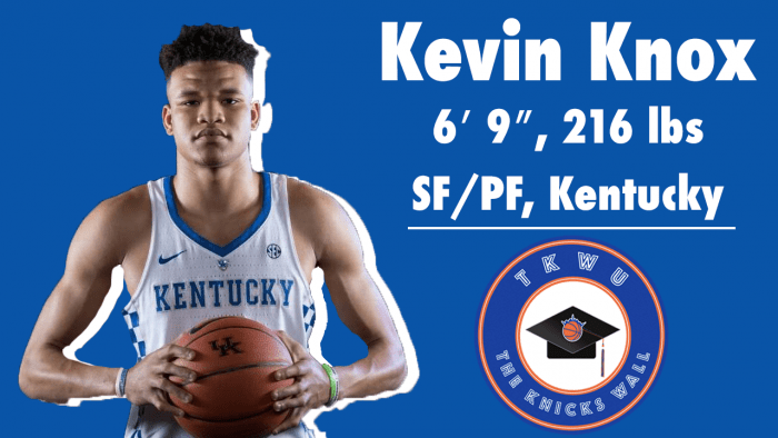 TKW U: Kevin Knox Knicks Breakdown