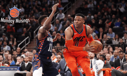 Monday Musings: Frank Ntilikina and the 'Shumpert Corollary'