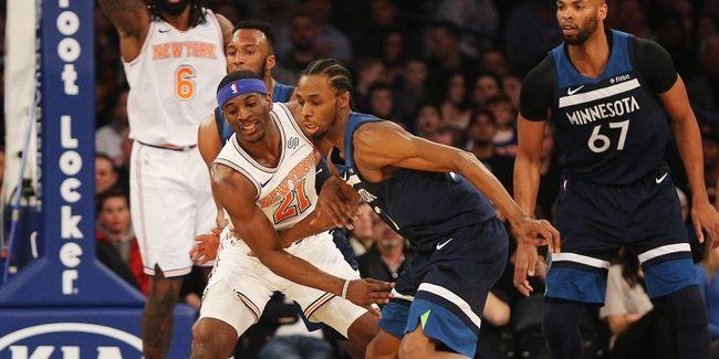 Emmanuel Mudiay Returns in Knicks' Loss to Timberwolves