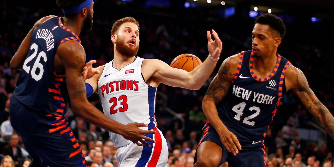 Knicks Break Franchise Record With 14th Straight Home Loss in Defeat to Pistons