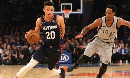 Balanced Knicks Attack Against Spurs Snaps Home Losing Streak on Oscars Night