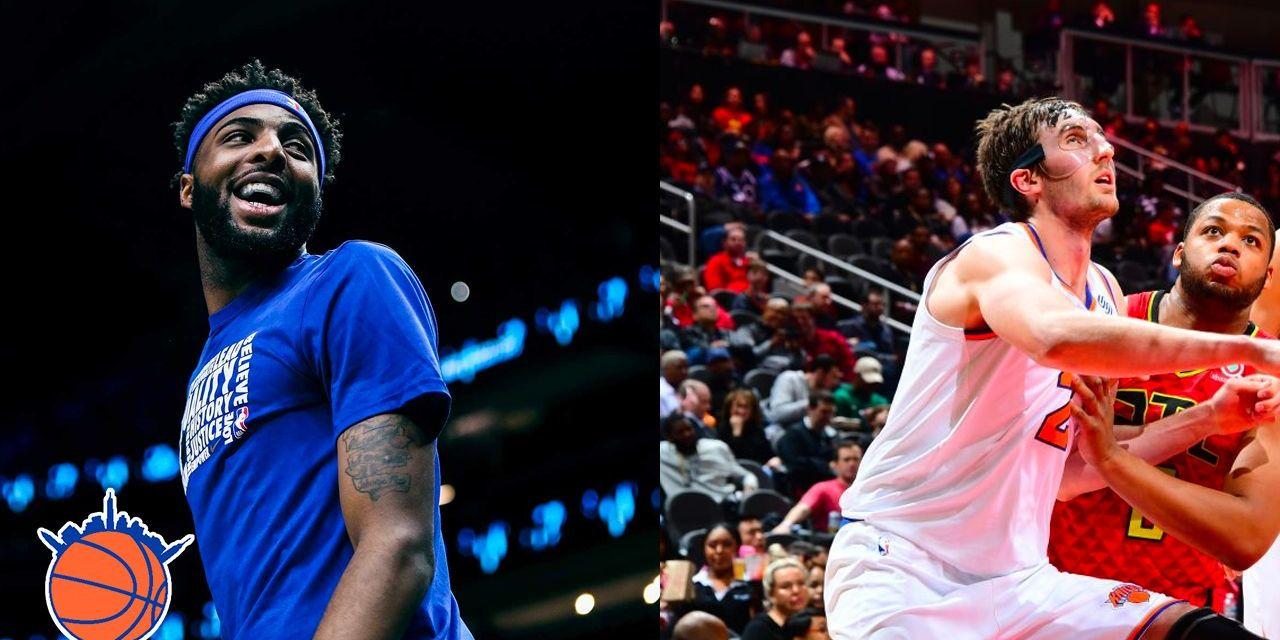 TKW Highlights: Mitchell Robinson–Luke Kornet Knicks Zone Defense