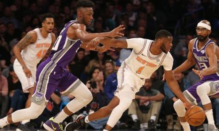 Knicks Drop Matinee Matchup to Kings, 102-94