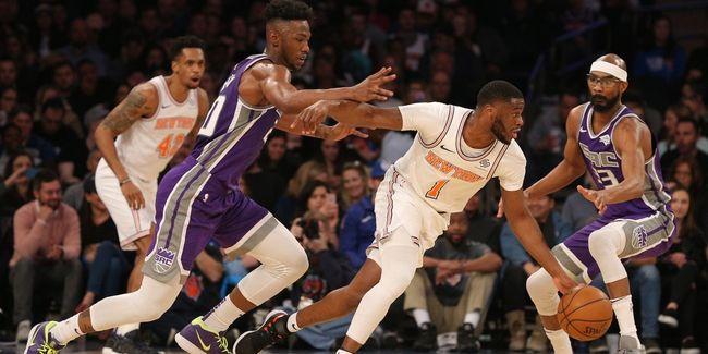 Knicks Drop Matinee Matchup to Kings, 102-94