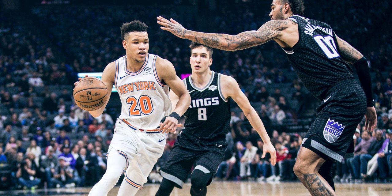 Knicks Face Kings in Saturday Matinee