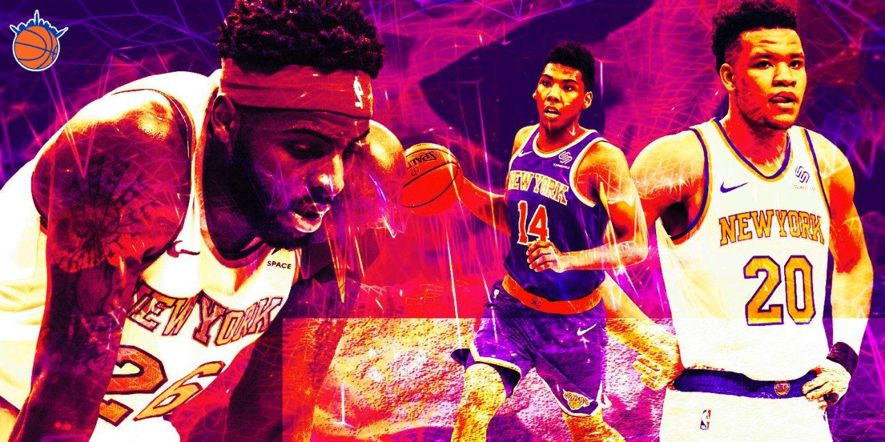 Rookie Report Cards: Final Grades on Kevin Knox, Allonzo Trier, and Mitchell Robinson's First Seasons