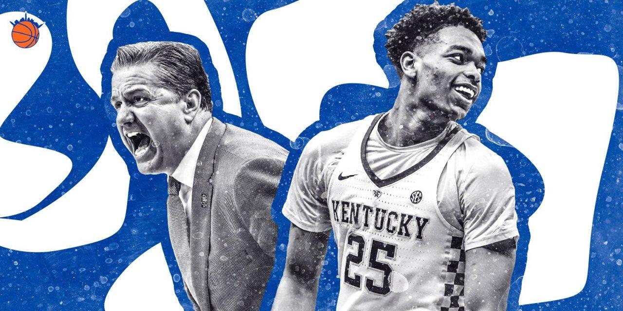 Will Kentucky's Boastful Lottery Streak End at the 2019 NBA Draft?