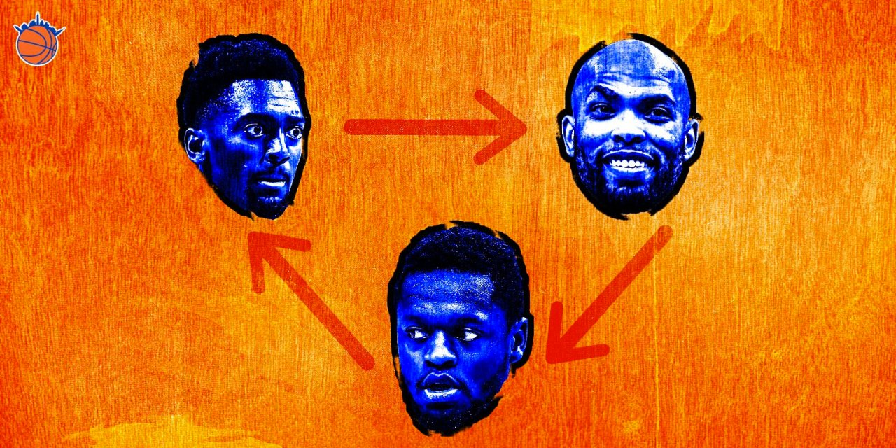 After Free Agency, Making Sense of the Knicks' Big Man Rotation
