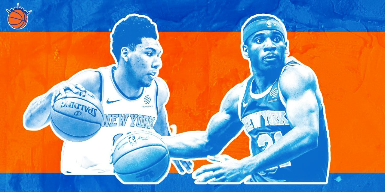 Damyean Dotson and Allonzo Trier Are Forgotten Men in the Knicks' Rotation Battle