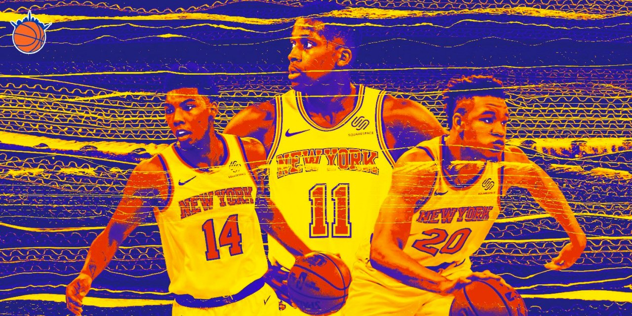 Finding Their Lane: Kevin Knox, Frank Ntilikina & Allonzo Trier's Road Map to Minutes
