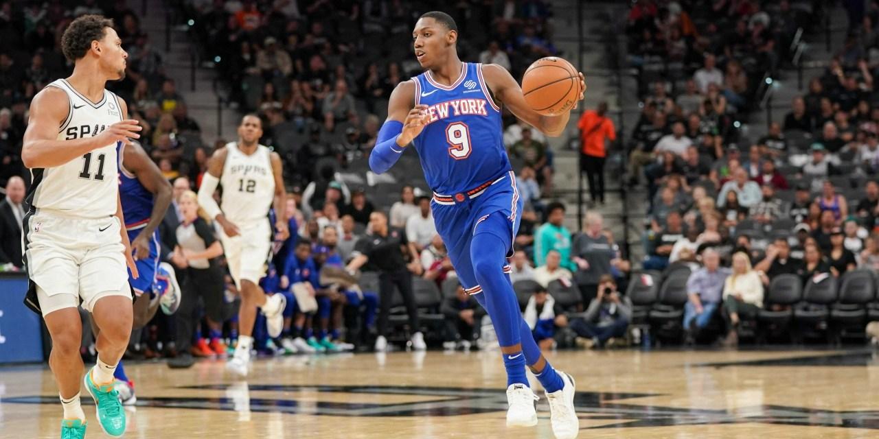 Knicks Host Slumping Spurs at the Garden