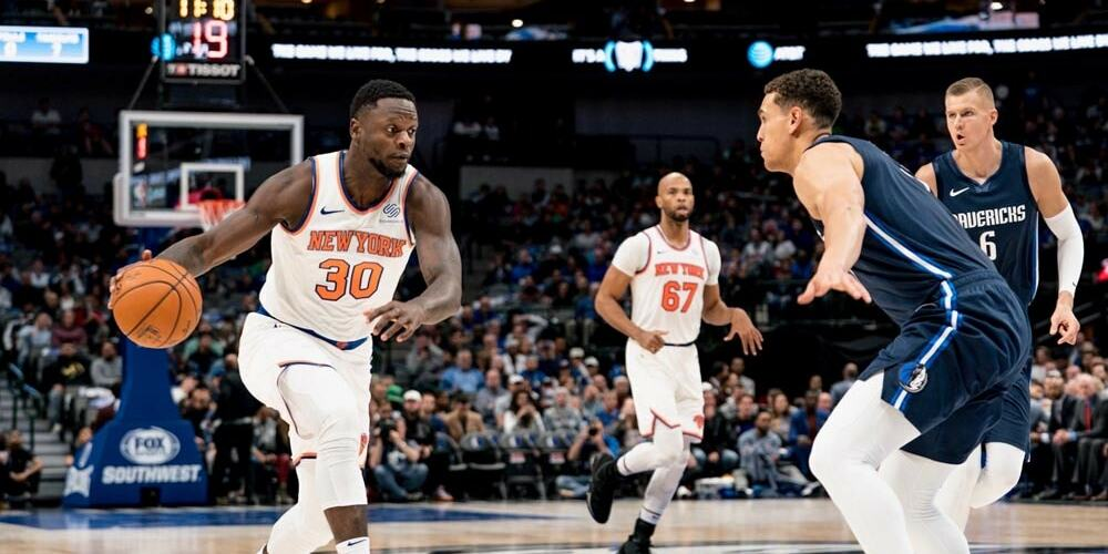 Kristaps Porzingis Returns to the Garden in Knicks, Mavs Clash